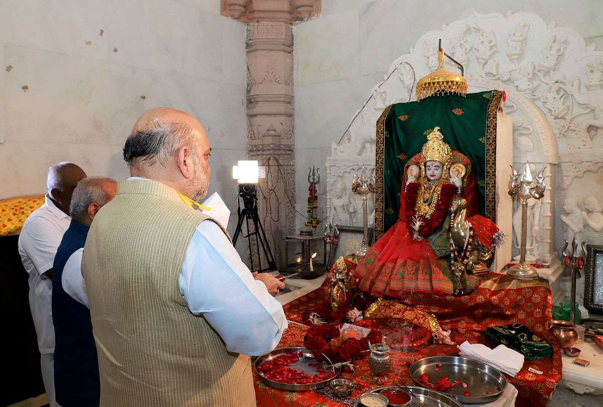 In Pics: Union Home Minister Amit Shah's two-day visit to Gujarat