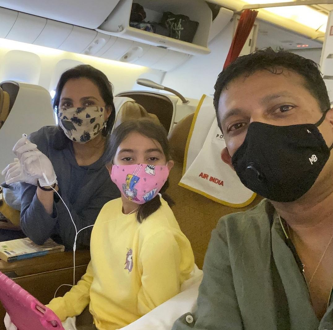 Mahesh Bhupati and family being safe during the Covid pandemic