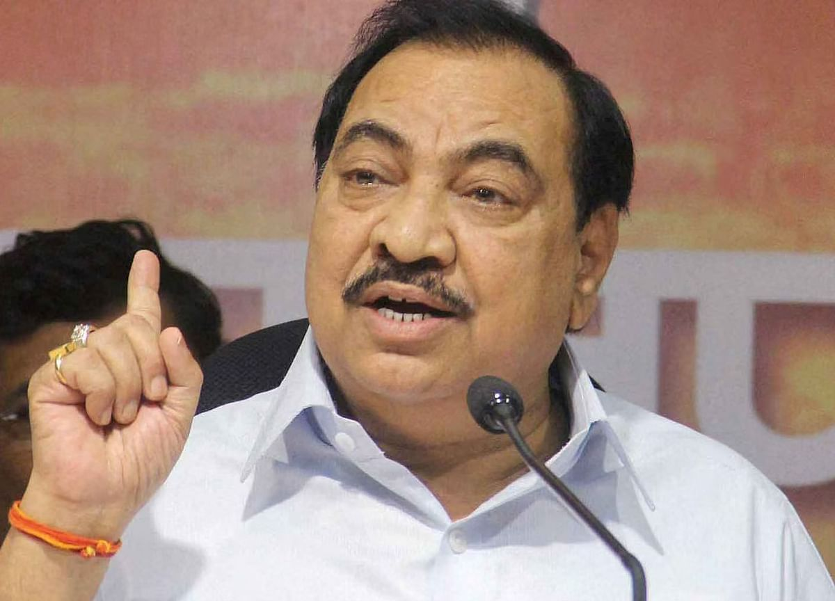 BJP leaders making statements about MVA govt to keep its flock together: Eknath Khadse