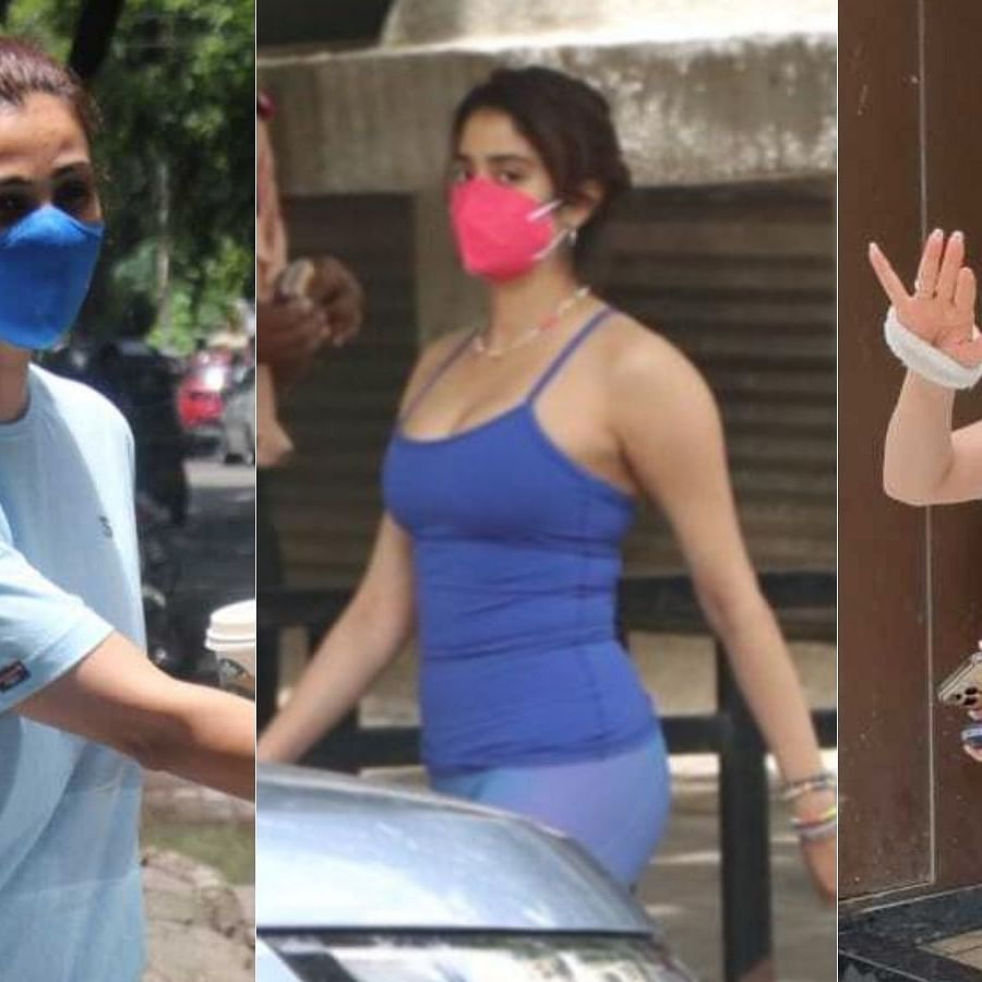 Photos: Janhvi Kapoor, Disha Patani, Nikki Tamboli and other celebs spotted in Mumbai