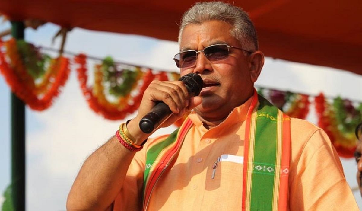 'She is woman MP. Shamed Indian culture by applying sindoor': BJP's Dilip Ghosh demands Nusrat Jahan's resignation; Netizens irked
