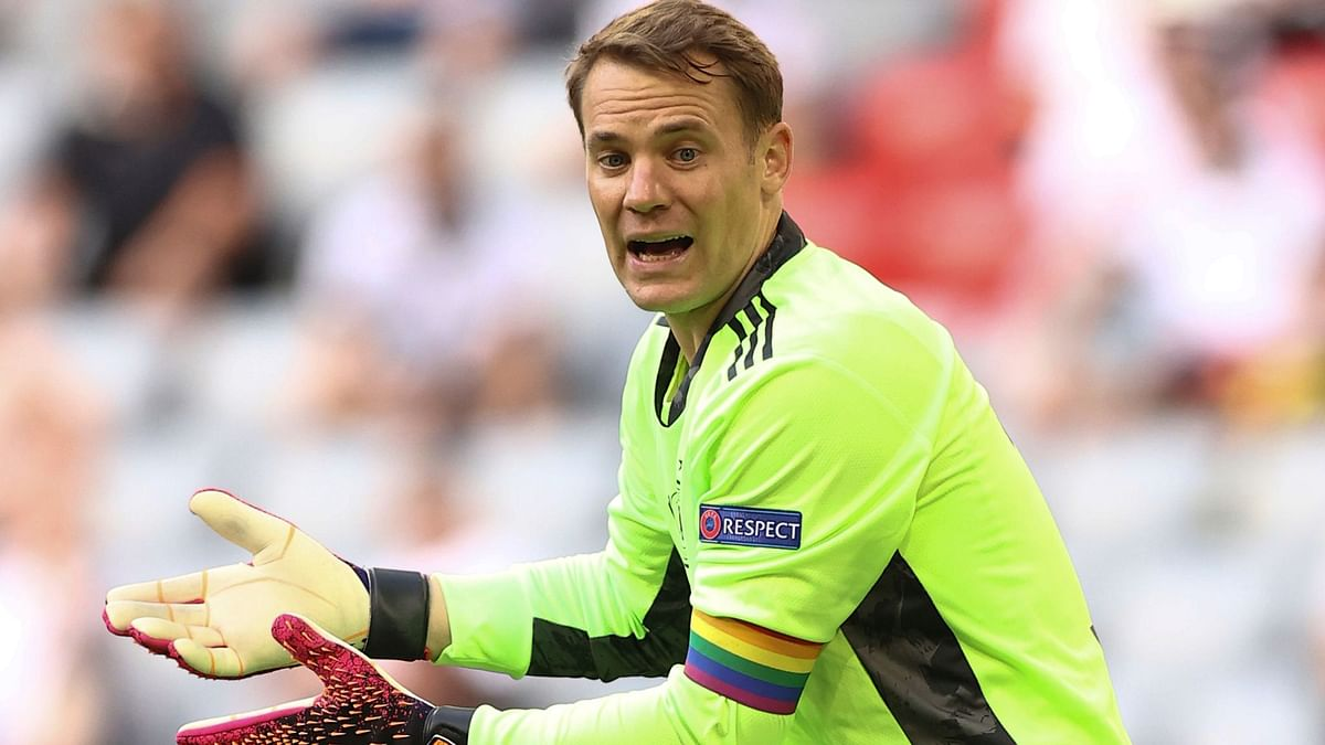 Pride month: UEFA stops investigation into Manuel Neuer's rainbow armbands sported in Euro 2020 matches