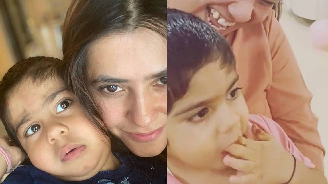 Watch: Ekta Kapoor's son Ravie eats her birthday cake before she can cut it