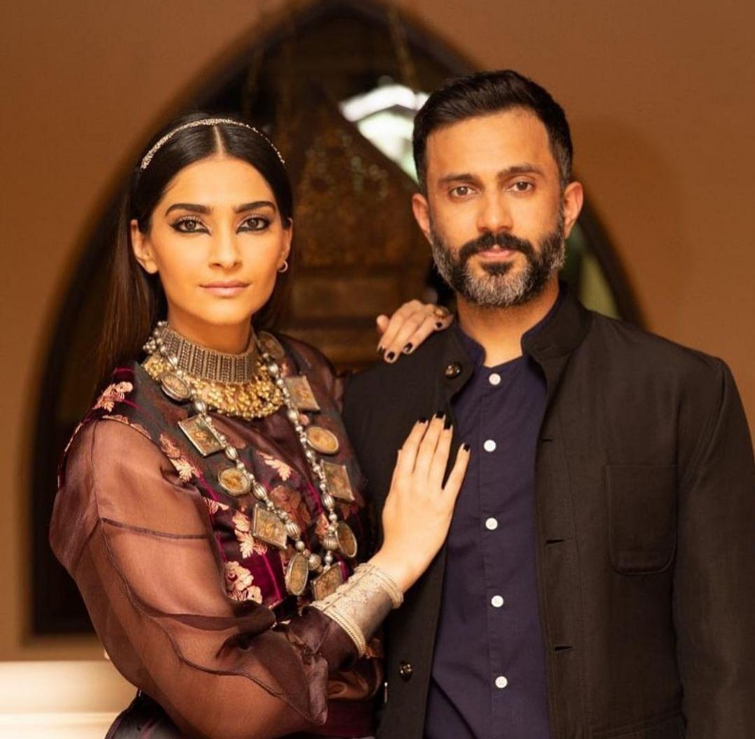 Sonam and husband-Anand Ahuja