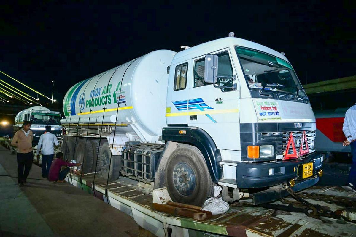 Oxygen Express reaches Maharashtra