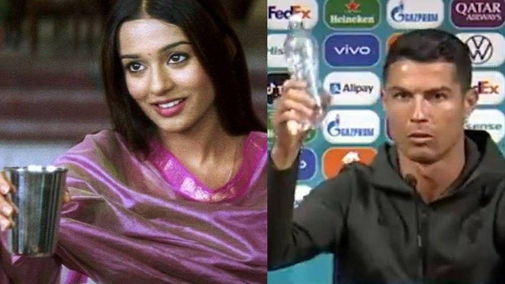 Amrita Rao reacts to Cristiano Ronaldo's 'Jal Lijiye' meme after footballer's  Coca-Cola snub