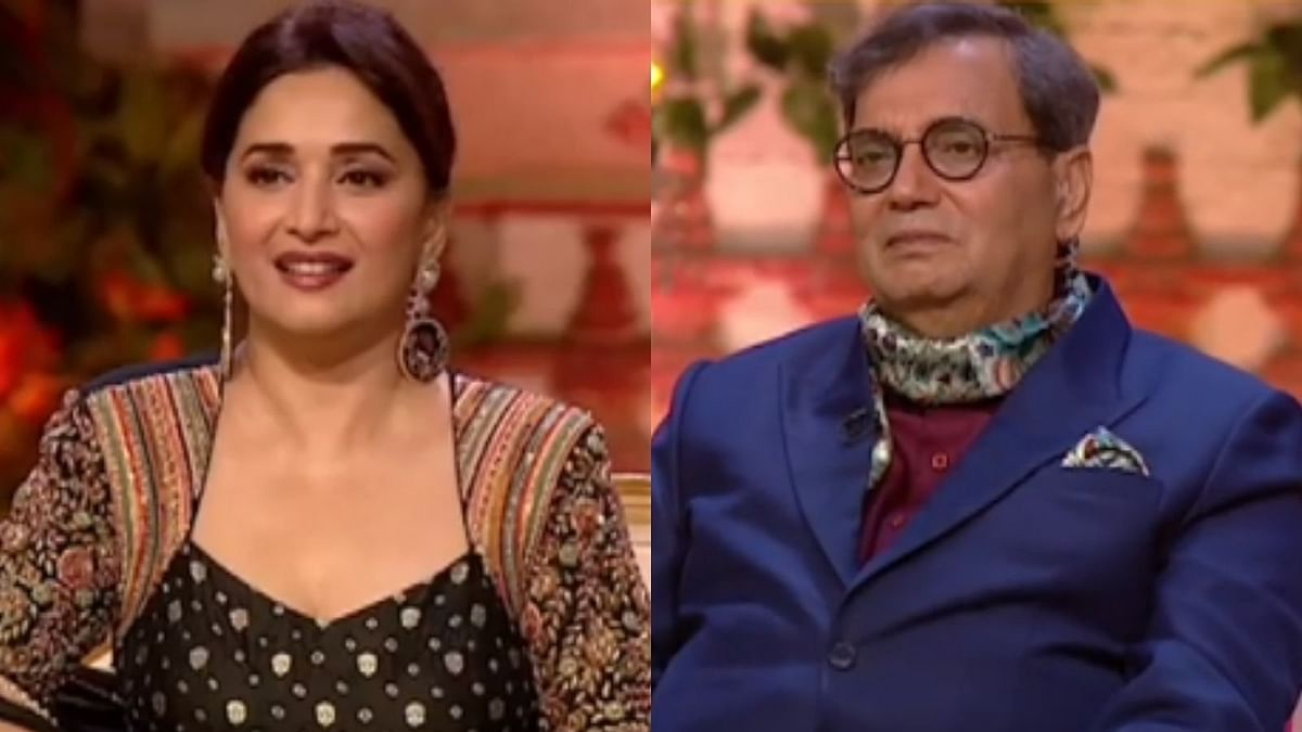 Watch: Madhuri Dixit, Subhash Ghai get emotional after watching BTS video of 'Choli Ke Peeche' featuring Saroj Khan