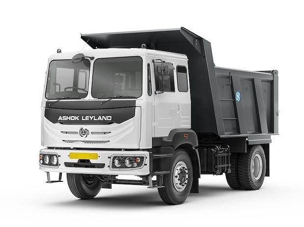 Ashok Leyland shares close over 4% higher after Q4 earnings