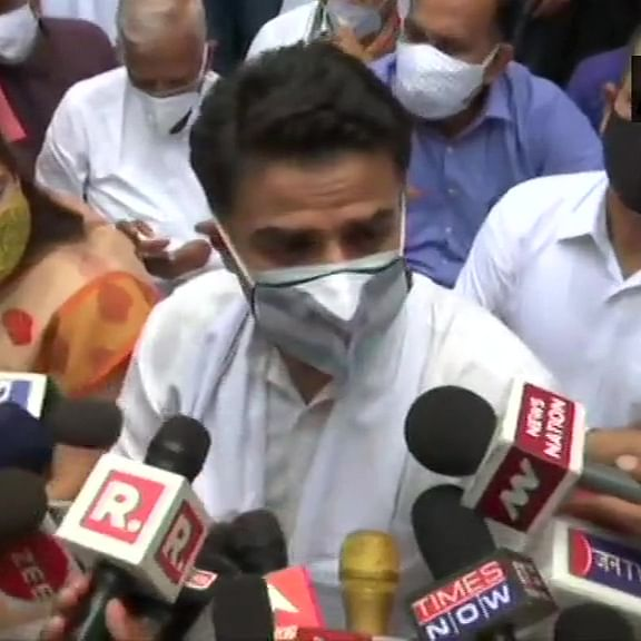 'She doesn't have courage to speak to me': Sachin Pilot on Rita Bahuguna Joshi's claim that he may soon join BJP