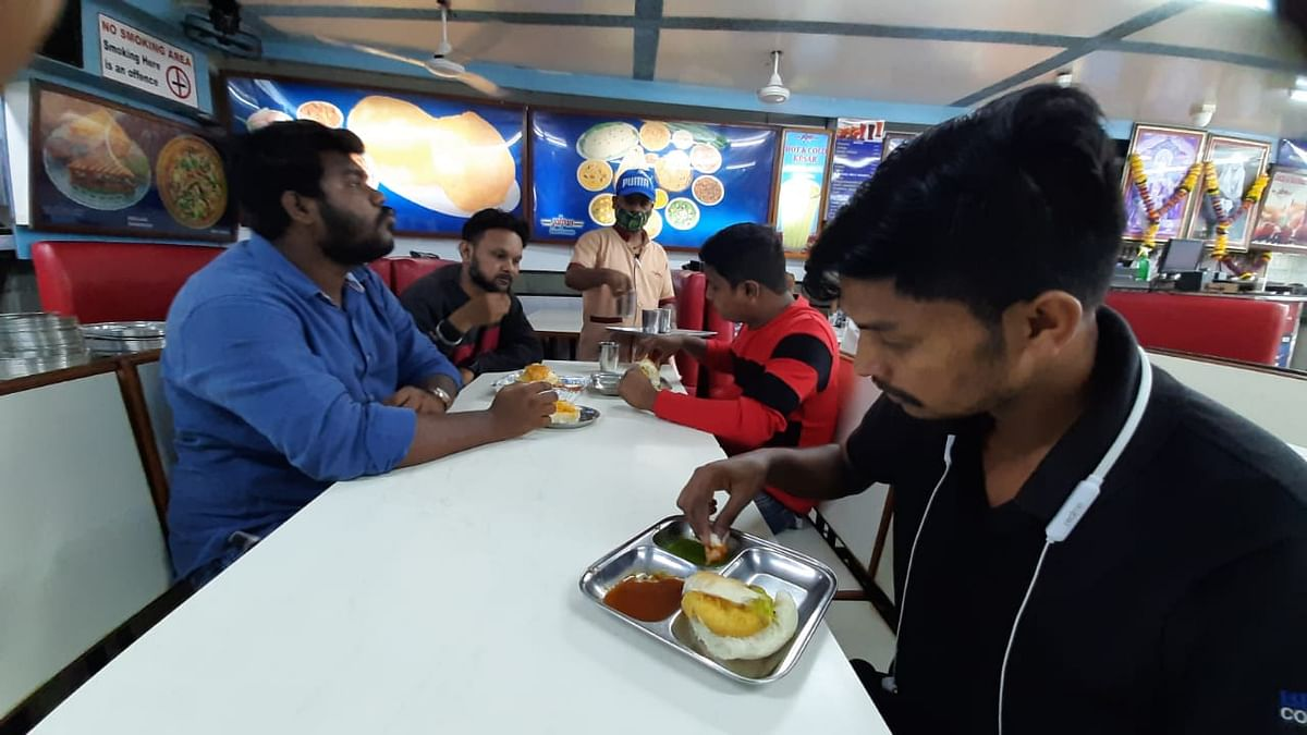 Restaurants reopened in Mumbai on Monday with 50% capacity as a part of the Maharashtra government's 5-level plan of easing the restrictions induced due to COVID-19.