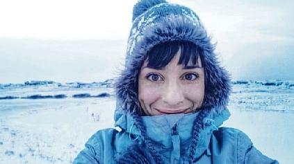 Woman spends lockdown alone in Arctic