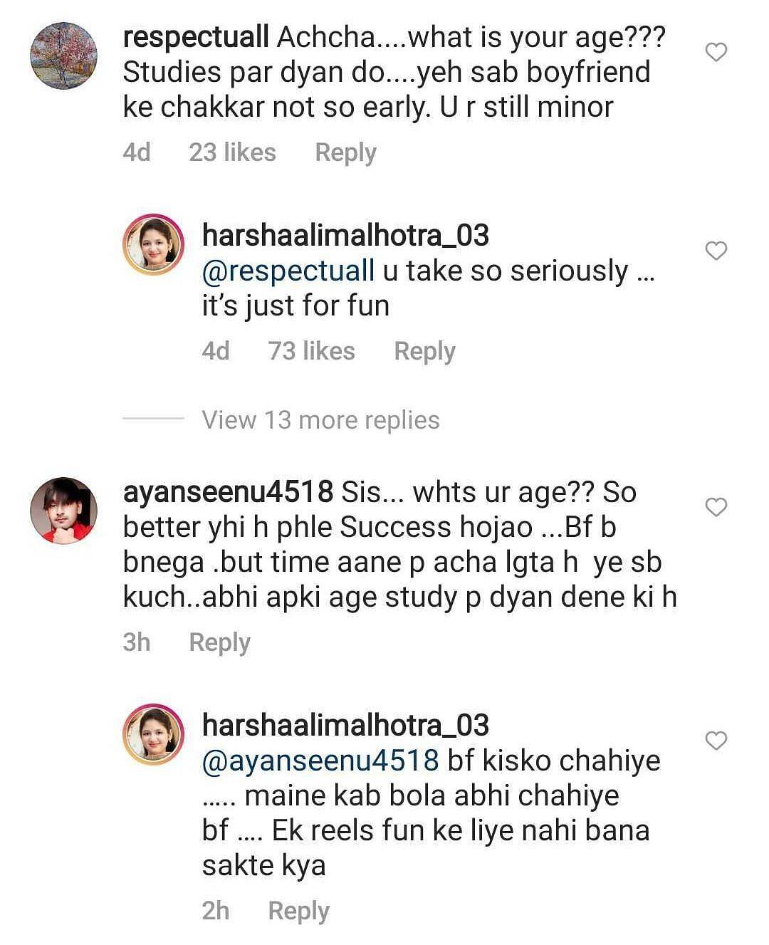 'Boyfriend ke chakkar': Munni from 'Bajrangi Bhaijaan' responds to troll who asked her to focus on studies