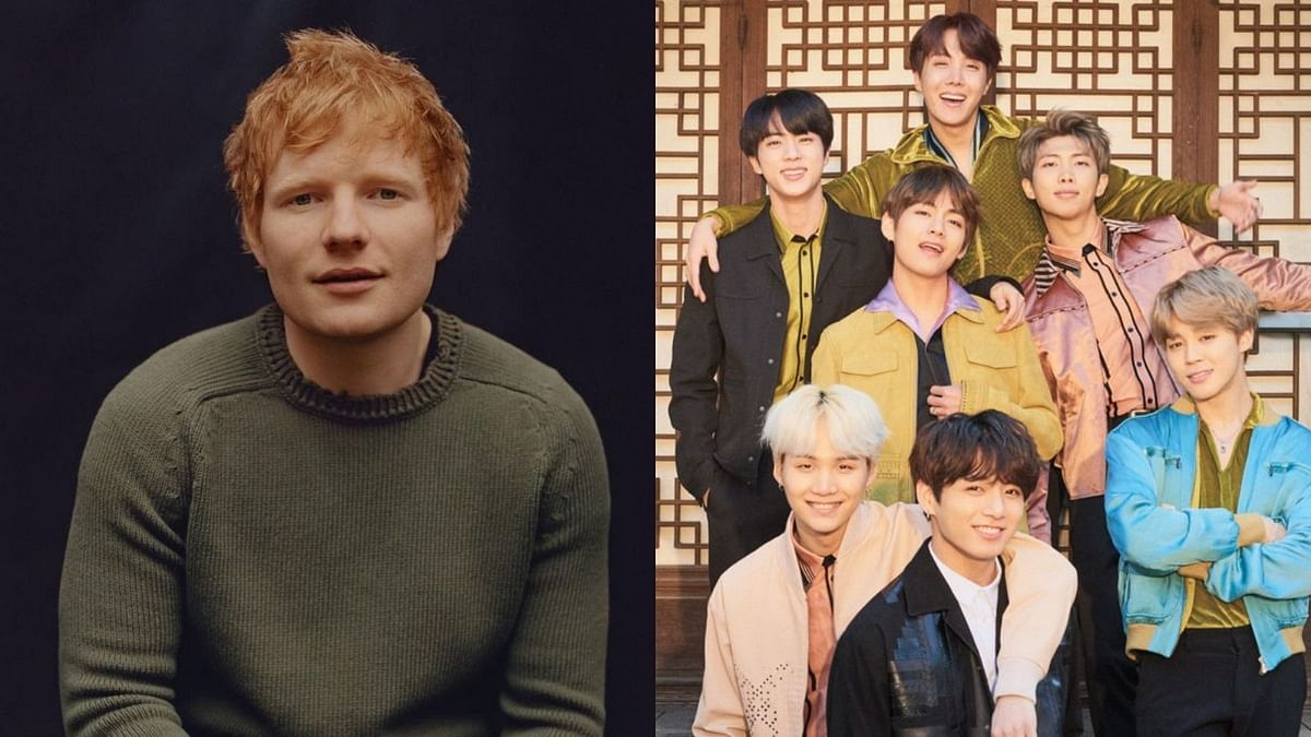Ed Sheeran to reunite with BTS, says 'I've just written a song for their new record'