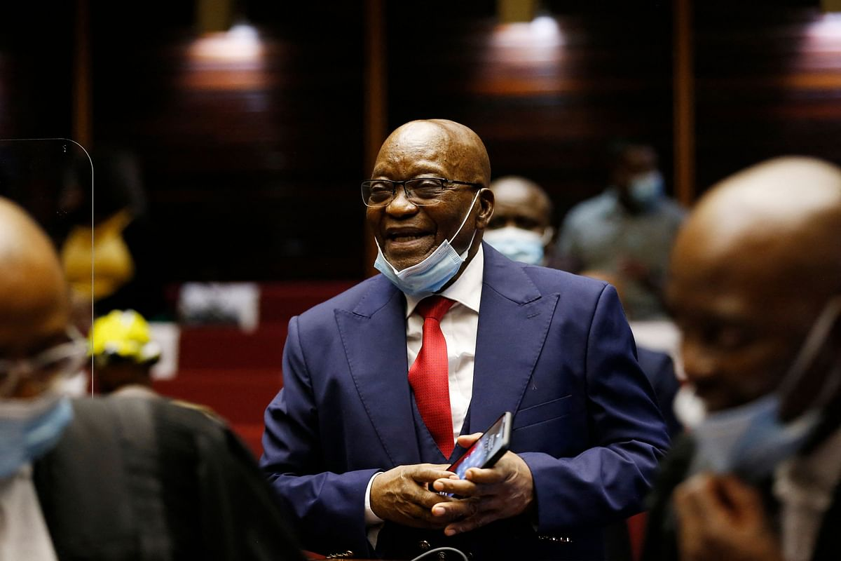 South Africa's top court sentences former President Jacob Zuma to 15 months in prison