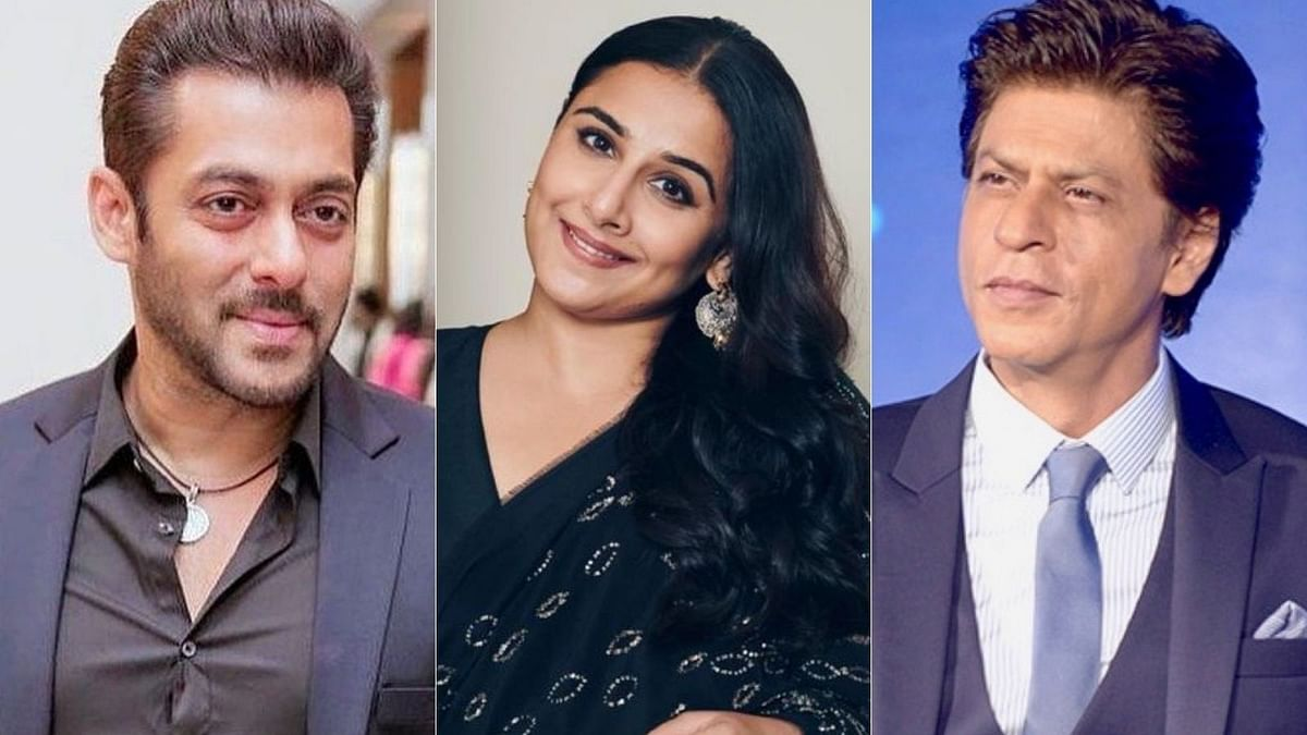 Salman Khan or Shah Rukh? Vidya Balan has an epic reply for fan who asked her to choose between the two