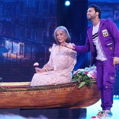 Watch: Zeenat Aman recreates iconic 'Do Lafzon Ki' boat scene on 'Indian Idol 12'