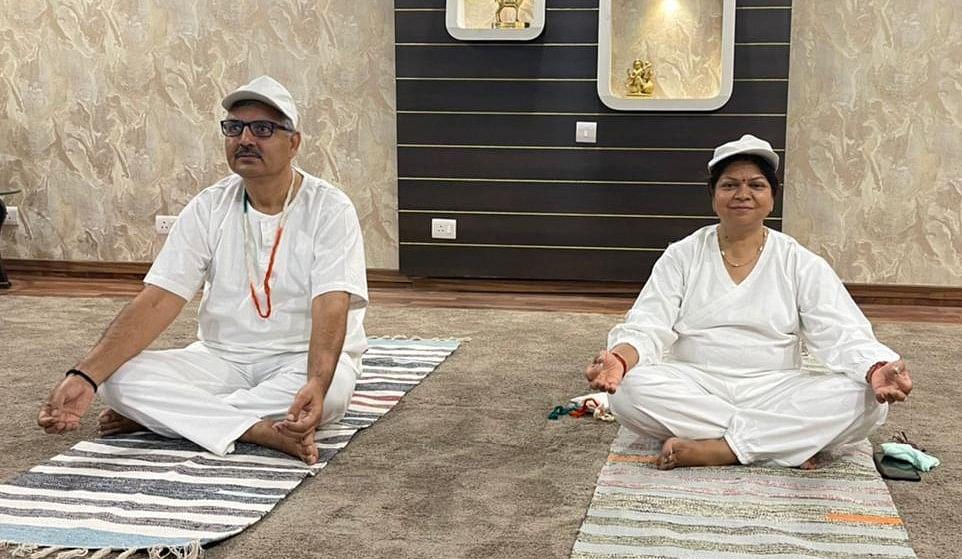 NHPC celebrates 7th International Yoga Day