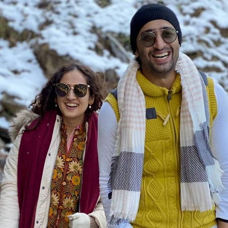In Pics: Shaheer Sheikh's wife Ruchikaa Kapoor strategically hides baby bump amid pregnancy rumours