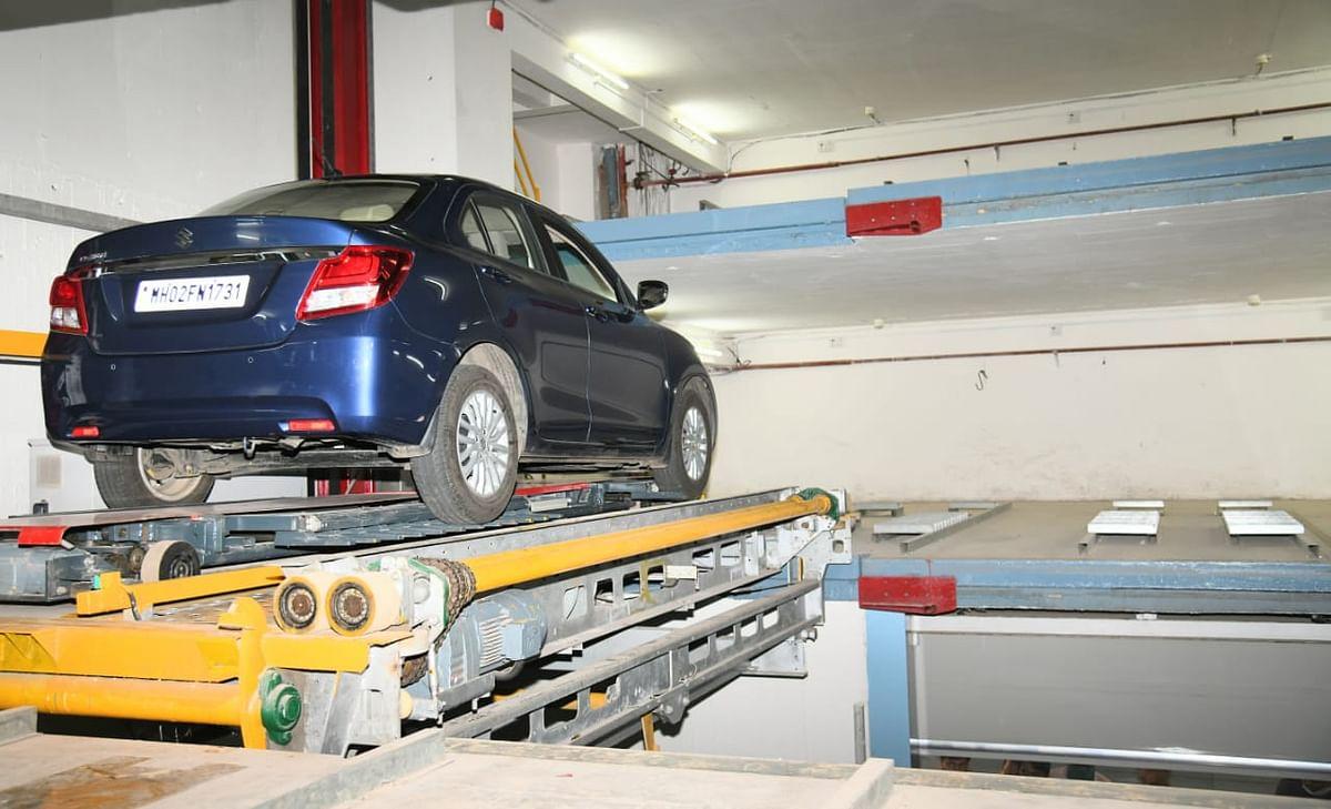Mumbai: Robotic public parking lot revamped, handed over to BMC