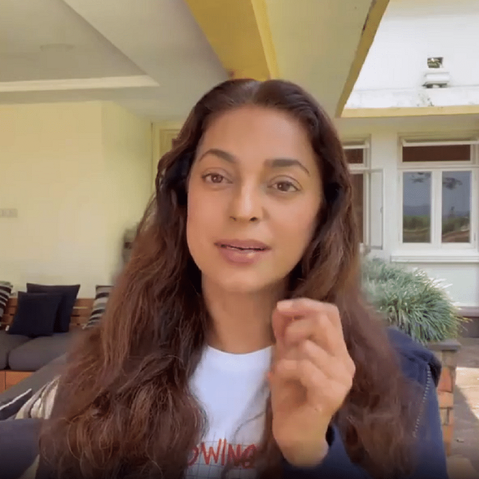 Watch: Juhi Chawla issues clarification over 5G lawsuit, says 'all we're asking for is clarity'