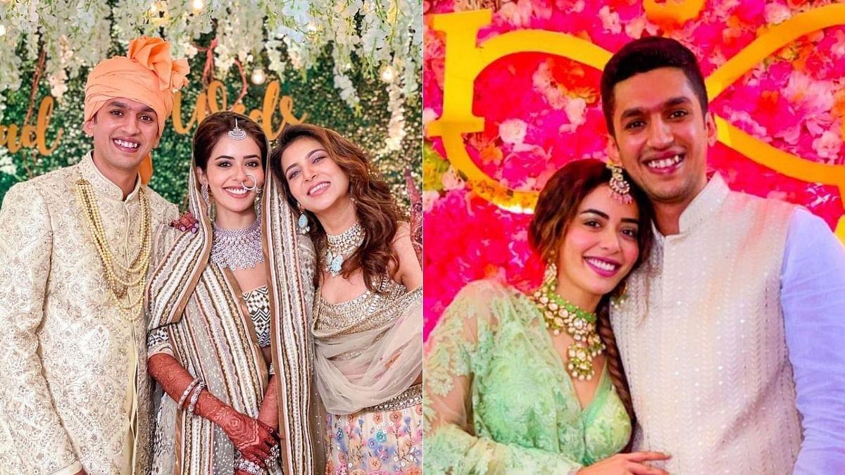 Inside pics: 'Divya Drishti' actress Sana Sayyad ties the knot; co-stars Nyra, Adhvik attend her wedding