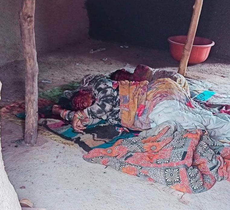 Mangled bodies inside their hut