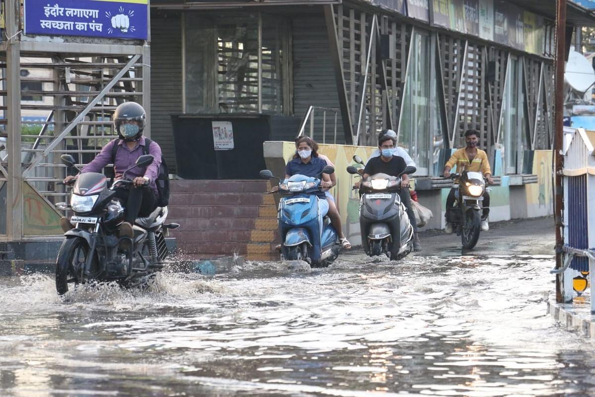 Madhya Pradesh: Rain lowers mercury, but winds wreak havoc, uproot trees, hailstorm adds to woes