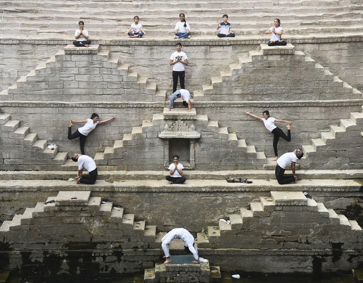 In Pics: International Yoga day celebration around the world