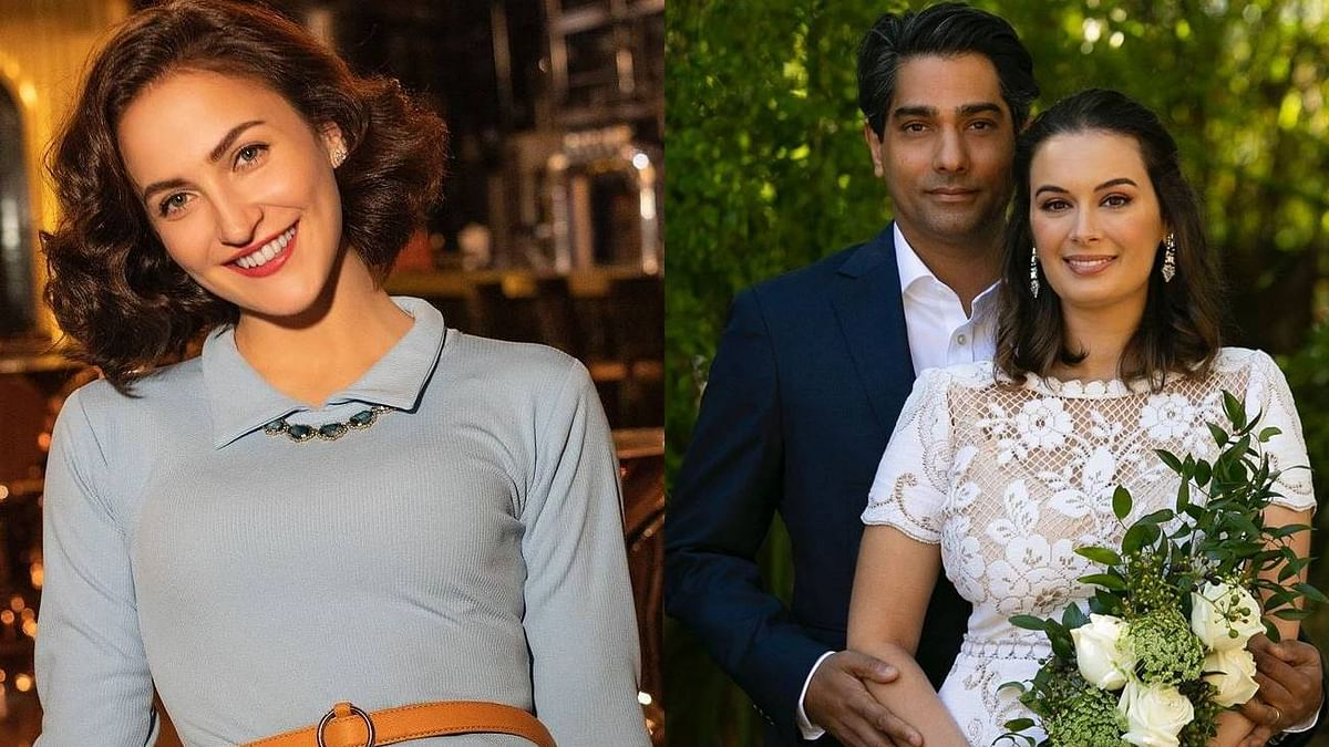 Evelyn Sharma was set up on a blind date with husband Tushaan Bhindi by none other than Elli AvrRam