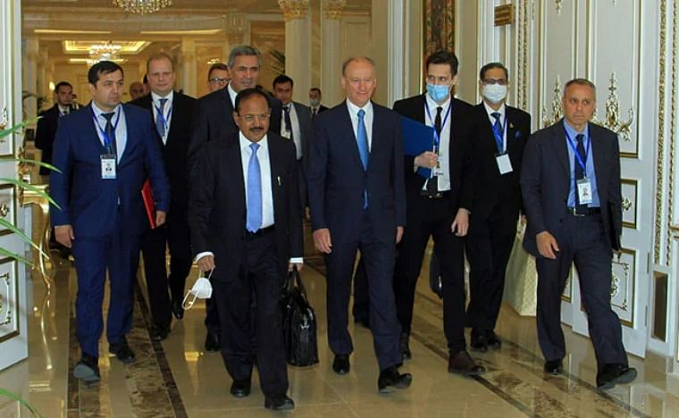 NSA Ajit Doval meets Russian counterpart in Tajikistan, discusses regional developments