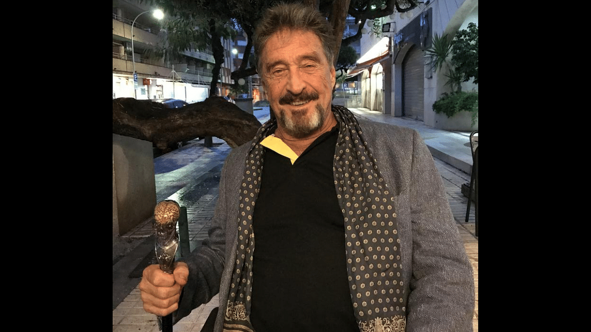 'If I suicide myself, I didn't. I was whackd': After McAfee's death, his old tweet goes viral