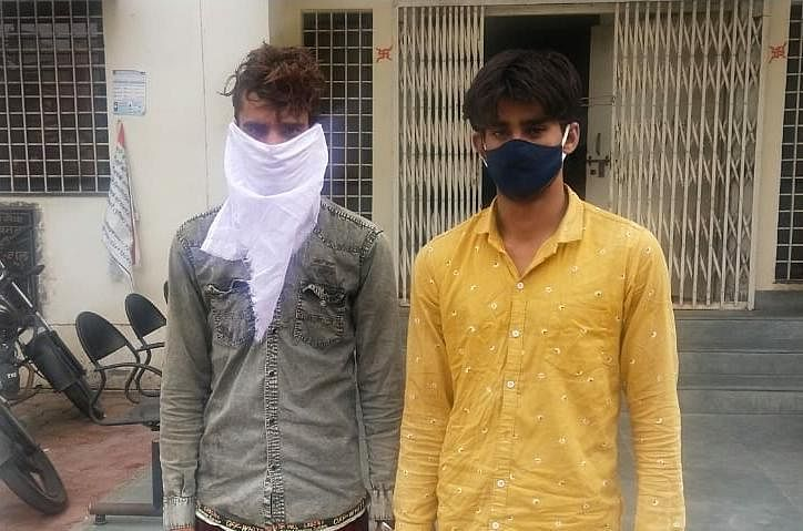 Two accused from Rajasthan