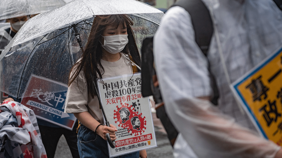 Tiananmen Square massacre: China silences tributes in Hong Kong, protesters gather outside embassy in Japan; see pics