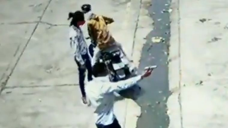Watch: 6 bike-borne miscreants open fire at shop and escape in Rajasthan