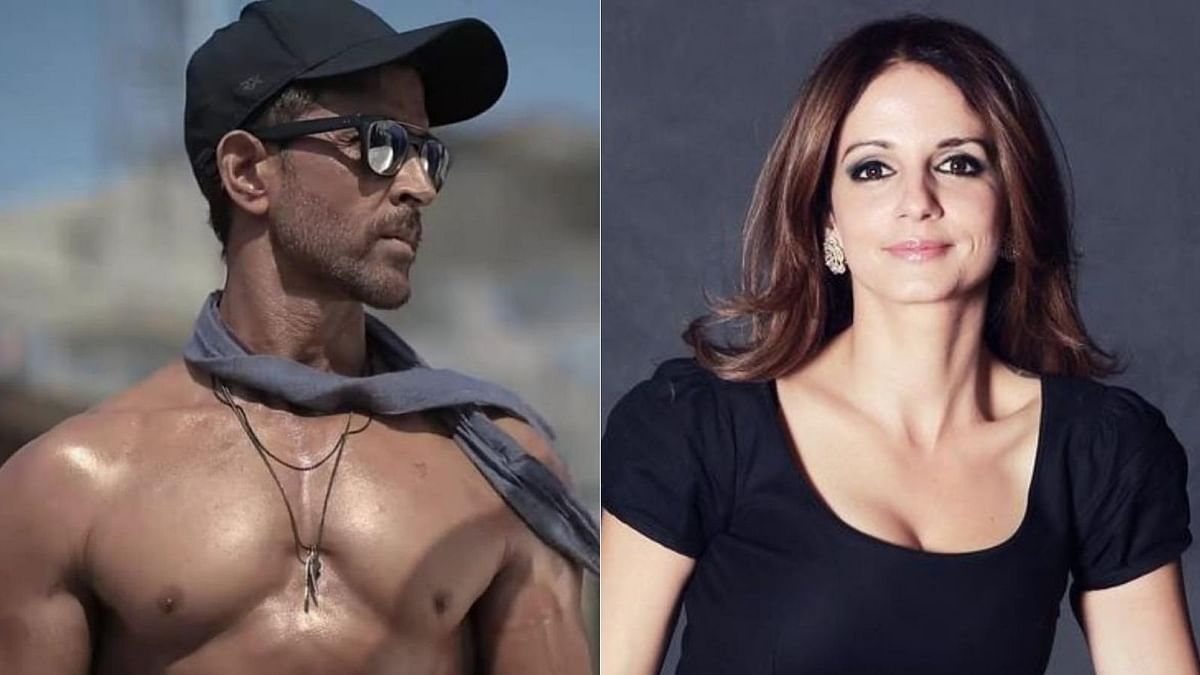 Hrithik Roshan flaunts his chiseled body in new pic; ex-wife Sussanne Khan reacts