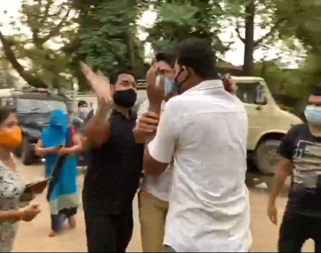 Security guard was beaten up by pet lovers