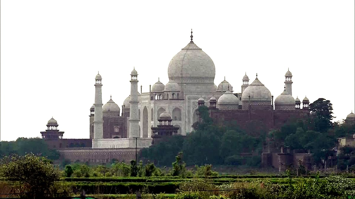 Taj Mahal to reopen from Wednesday, 650 visitors allowed at a time