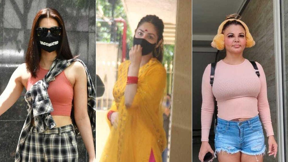 Photos: Yami Gautam, Kriti Sanon, Rakhi Sawant and other celebs spotted in Mumbai
