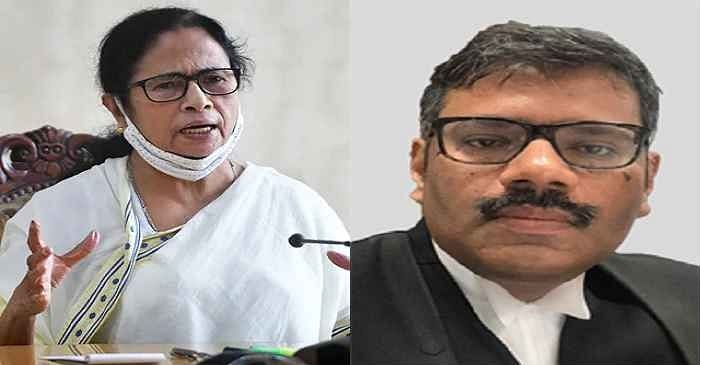 West Bengal CM Mamata Banerjee and Justice Kaushik Chanda