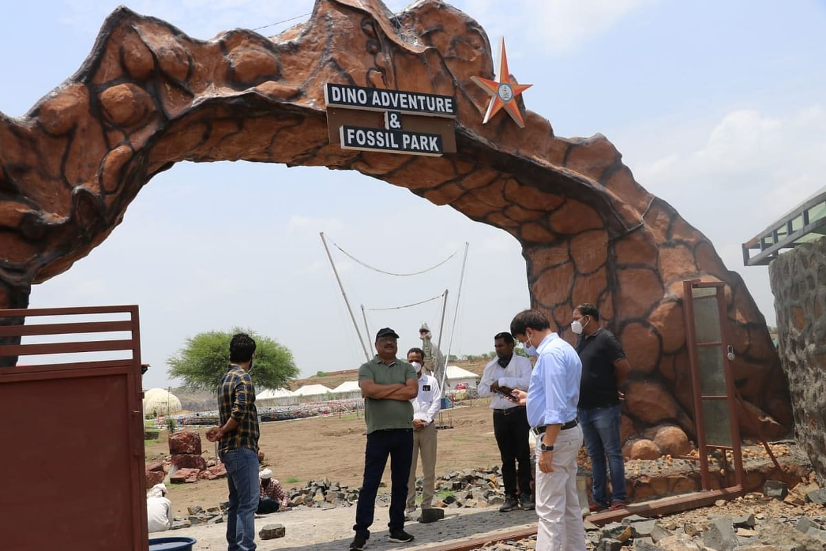 Madhya Pradesh: Dinosaur Fossils Park in Dhar to also offer rain dance, laser show to tourists