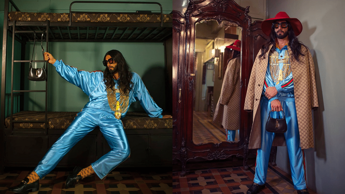 'When your RAC ticket gets confirmed...': Ranveer Singh's fashion experiment inspires hilarious memes on Twitter