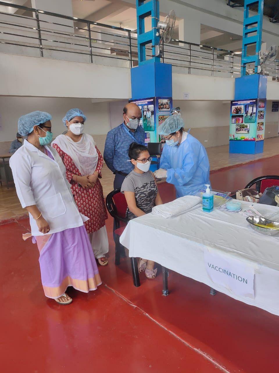 ECR organises vaccination camp at Patliputra Rail Parishar, Patna