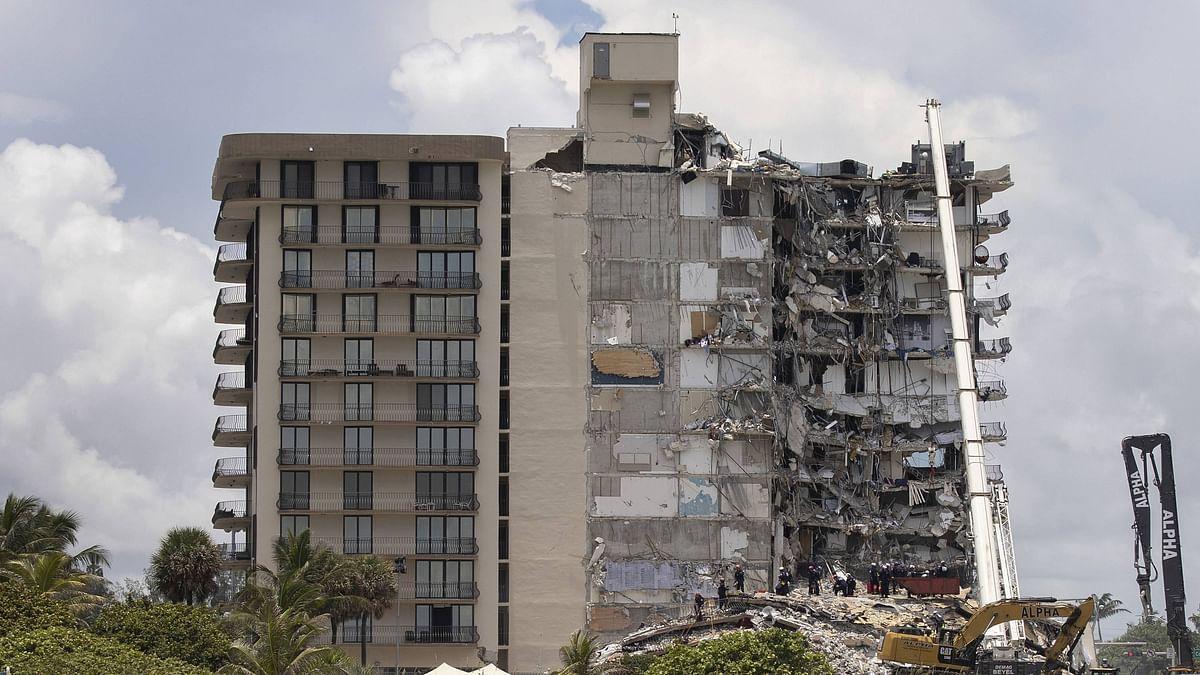 Death toll in Miami building collapse rises to 5; 156 unaccounted for: Mayor Daniella Levine Cava