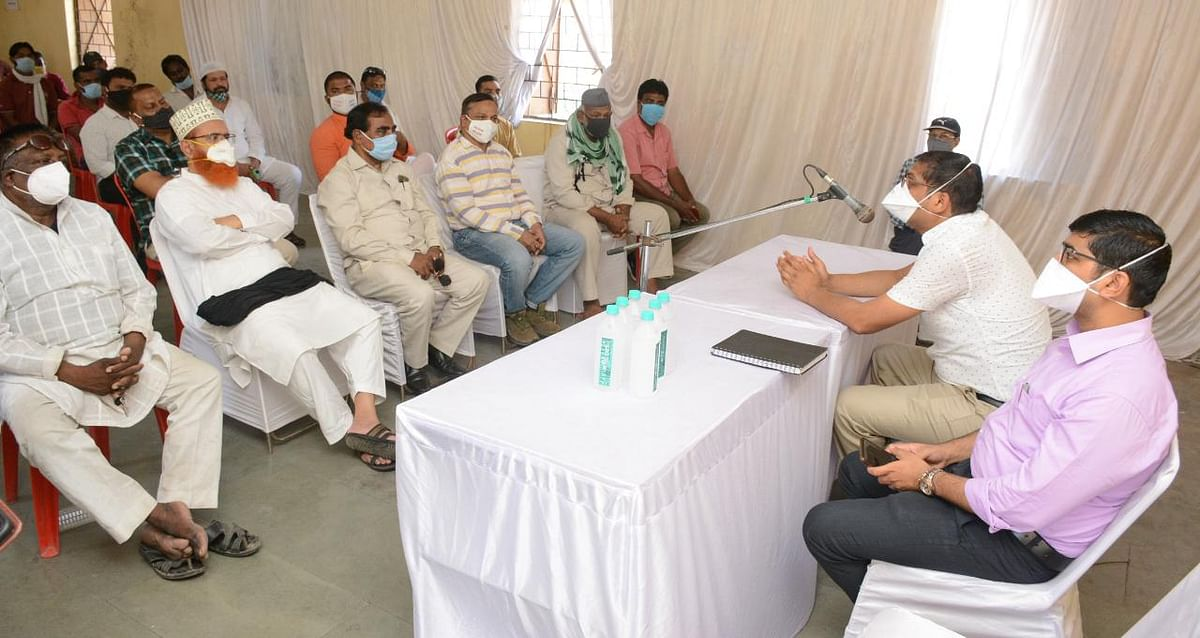 Covid vaccination in Ujjain: Administration asks community leaders to mobilise Muslims for Jab Job