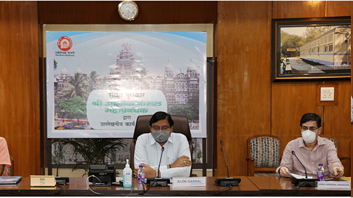 General Manager, Western Railway chairs Safety Review Meeting