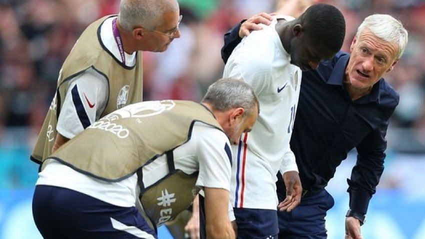 Euro 2020 - Huge blow for France: Star winger Ousmane Dembele ruled out for rest of the tournament
