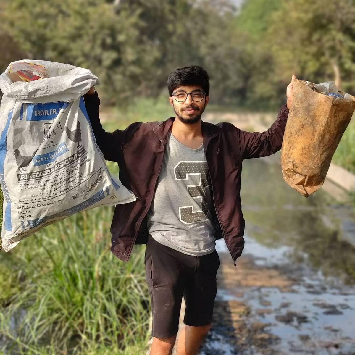'People used to call me kachrawala...': Pune plogger Vivek Gurav wants to influence govt's environmental policies