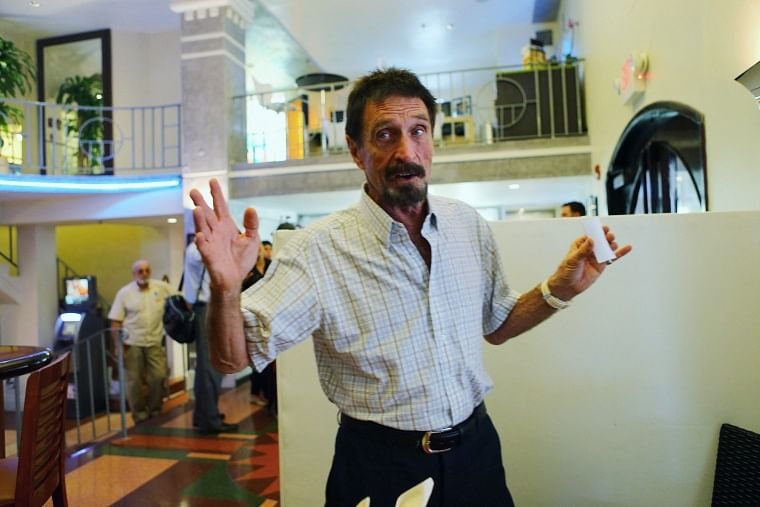 Shortly after approval of his extradition to United States, antivirus software pioneer John McAfee found dead in jail