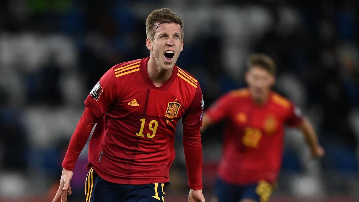Dani Olmo - Spain midfielder