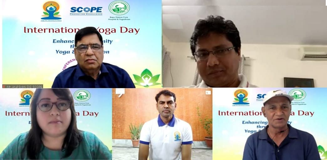 SCOPE observes International Yoga Day